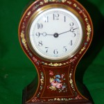 Lovely Art Nouveau Balloon Clock C1900