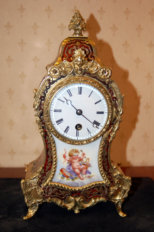 Boulle clock from late 19th century