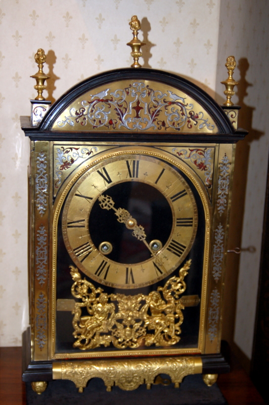 Late 17th century Religeuse Boulle Clock