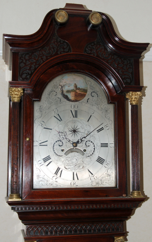 1771 Clock by Cranmer of Birmingham