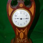 Swan Neck Balloon Clock C1900
