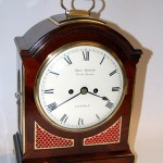 George Binns Bracket Clock C1820