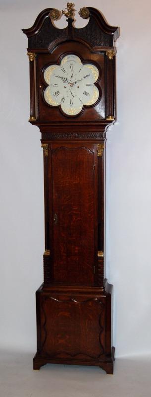 Lovely oak clock by Brown Birmingham