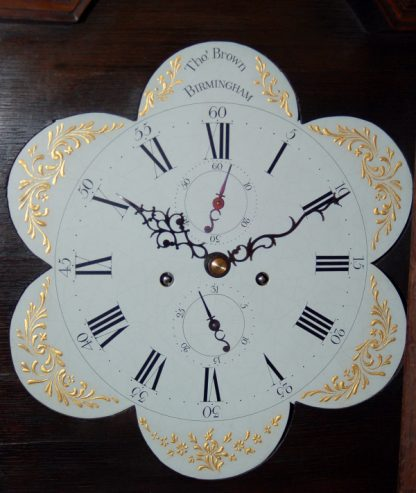 Rare shaped petal painted dial