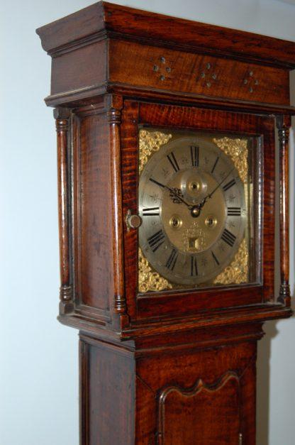 Very early provincial oak clock