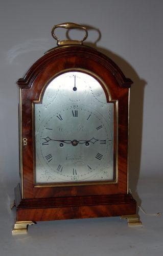 Lovely verge bracket clock by William Black London