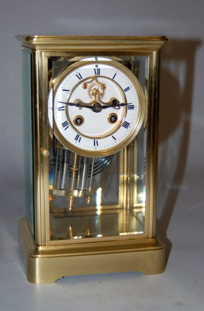 French 4 Glass Clock