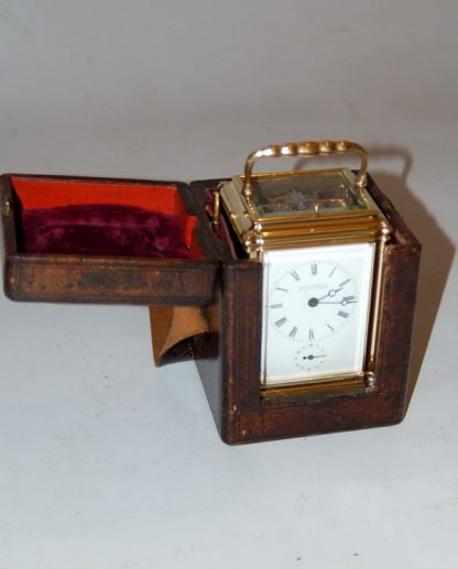 carriage clock and case