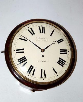 Dawson fusee wall clock