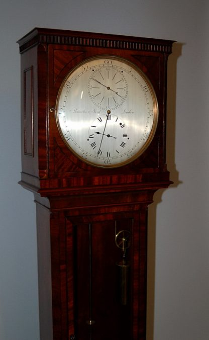 engraved silvered dial Thwaites Reed clock