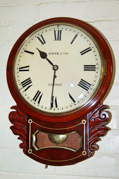 fusee convex dial wall clock