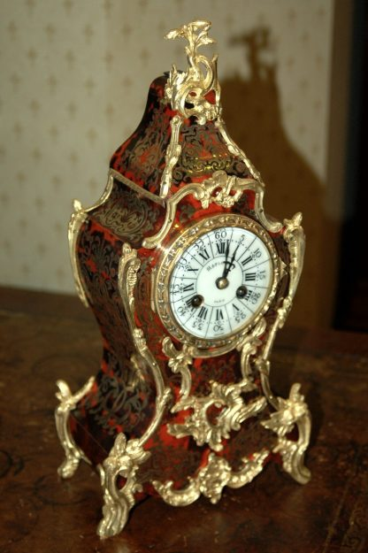 French 19th century boulle clock