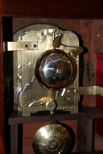8 day brass fusee clock